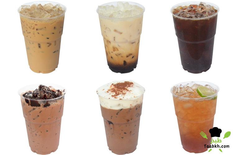 أنواع القهوة المثلجة
