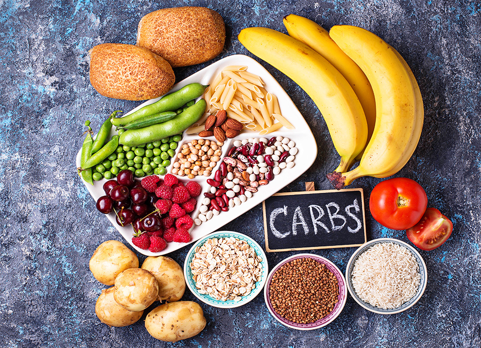 الأطعمة الصحية الغنية بالكربوهيدرات