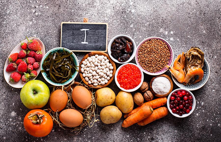 فوائد اليود الصحية ومصادره من الأطعمة