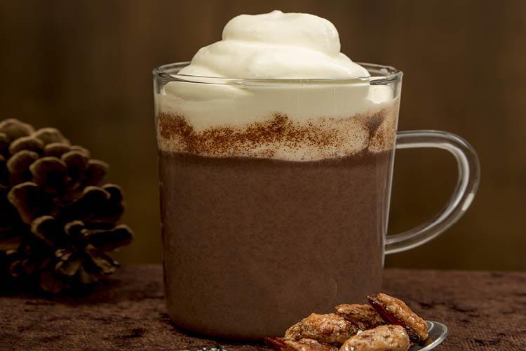 مشروب الكاكاو مع الكريمة