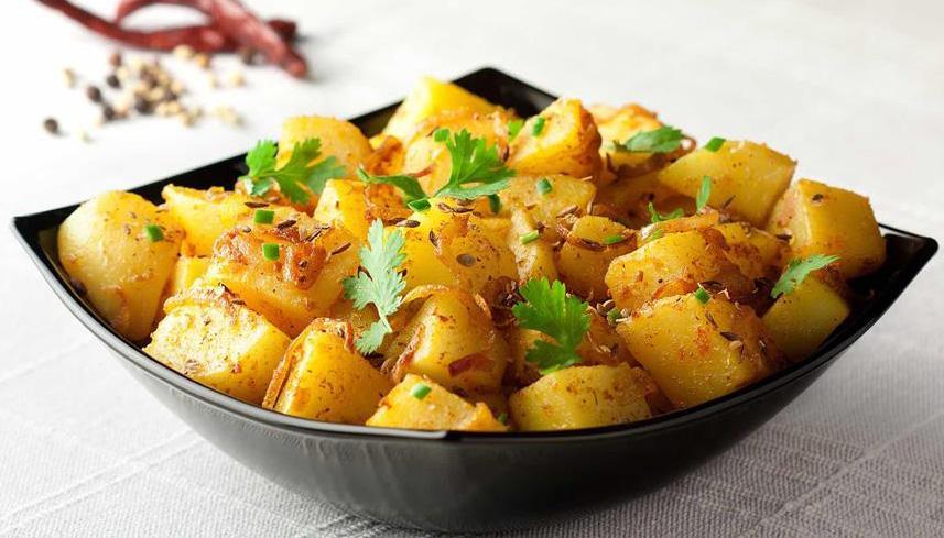 البطاطس الحارة على الطريقة اللبنانية