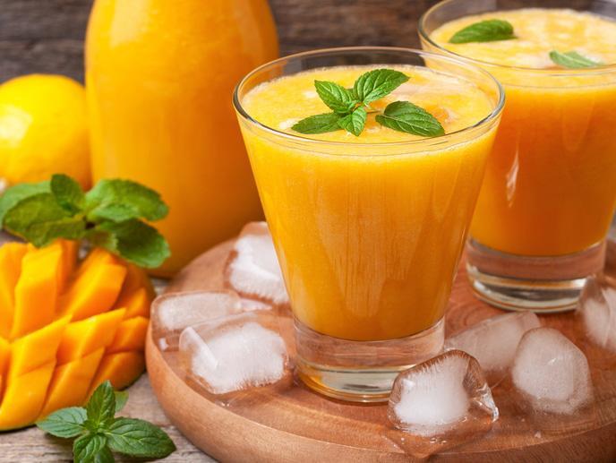 عصير المانجو والليمون