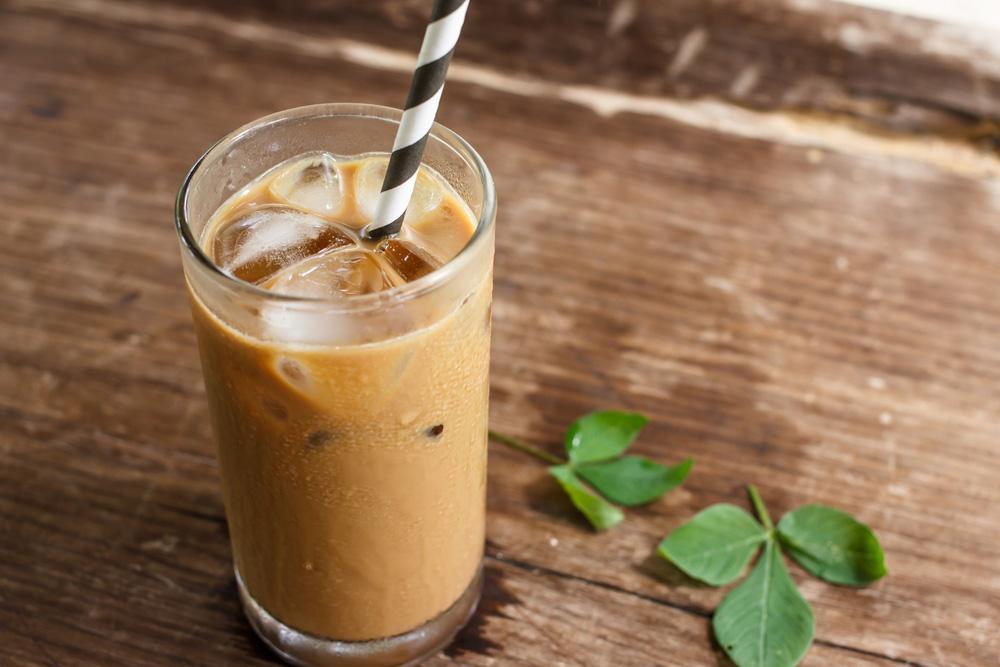 قهوة الموكا الباردة في المنزل