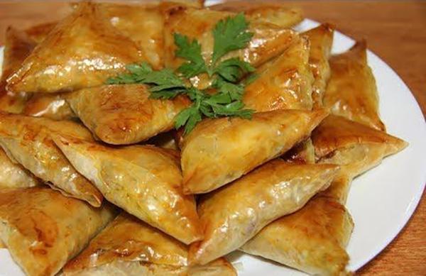 بريوات مغربية في الفرن