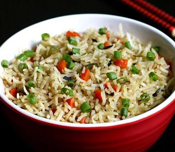 طريقة عمل الرز المقلي الصيني