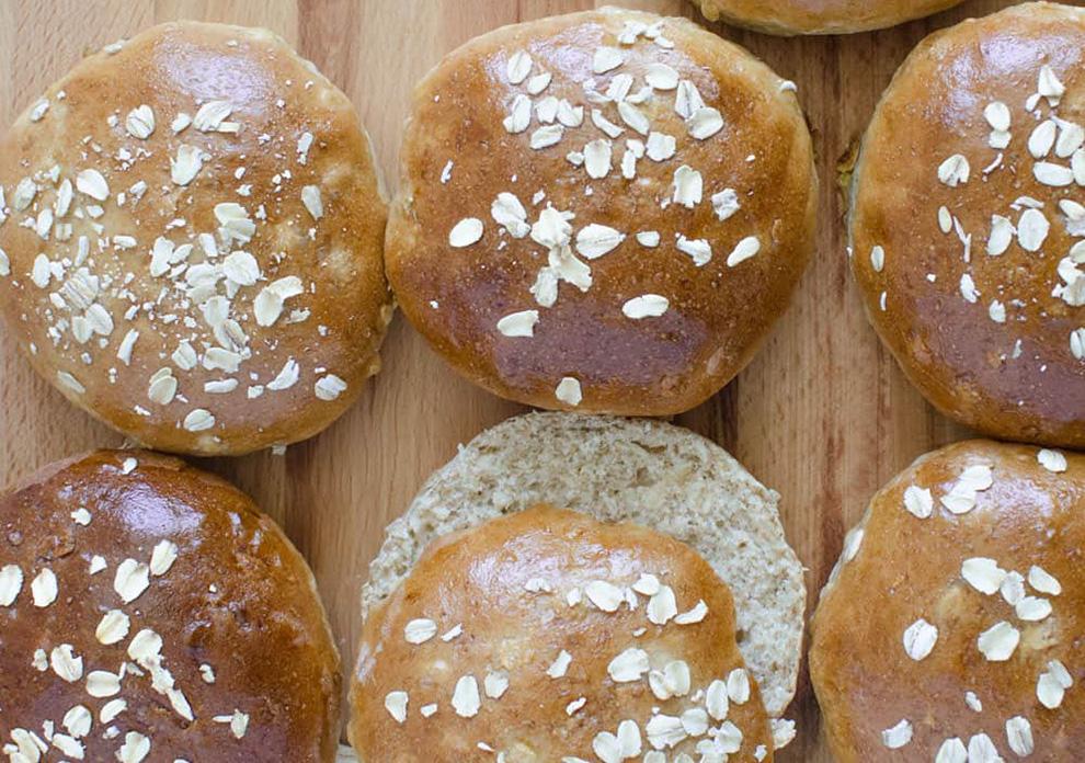 خبز بالشوفان