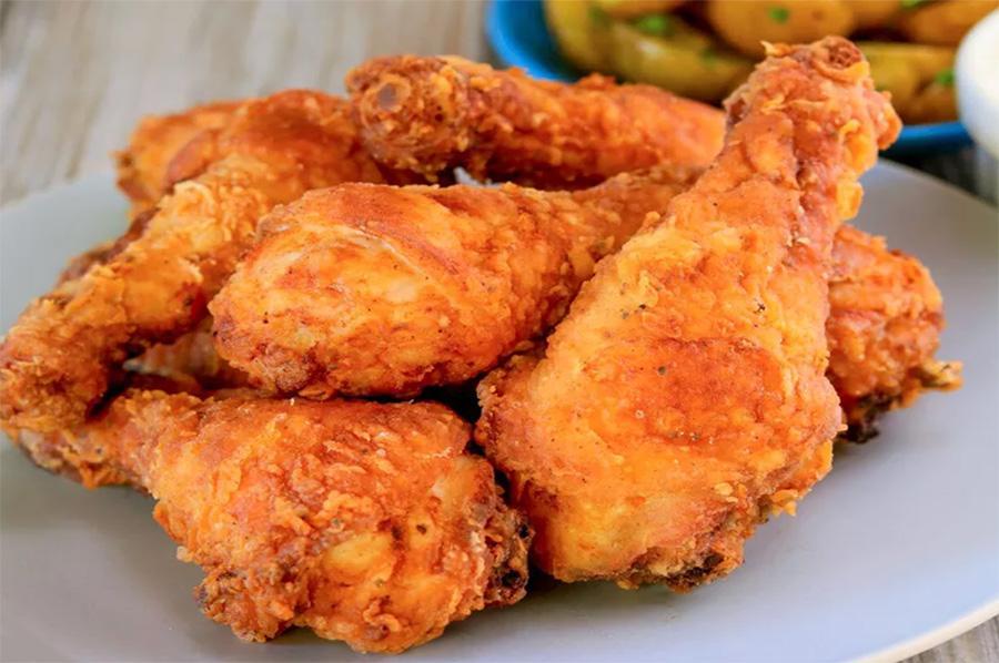 طريقة عمل دجاج البروستد في المنزل