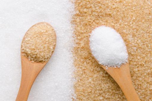 السكر الأبيض و السكر البني
