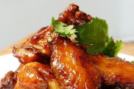 أجنحة دجاج بالعسل