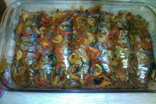 طريقة عمل صينية سمك سردين