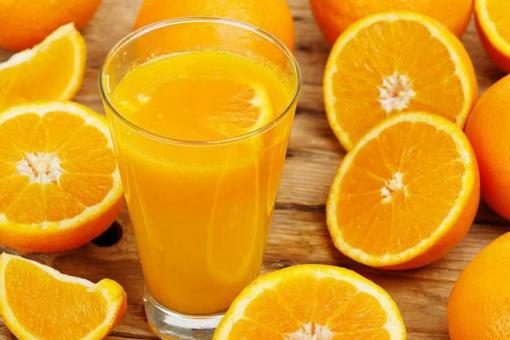 عصير برتقال بالمياه الغازية