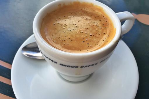 قهوة فرنسية بالبندق