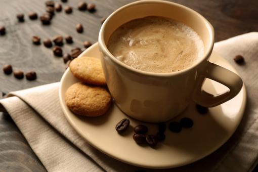 مشروب القهوة باللوز
