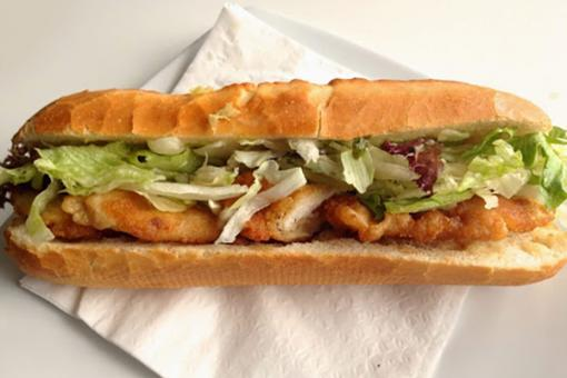 ساندويش اسكالوب الدجاج