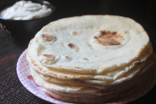 طريقة عمل خبز الشاورما في المنزل