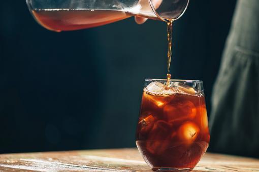 القهوة المقطرة بالماء البارد كولد برو