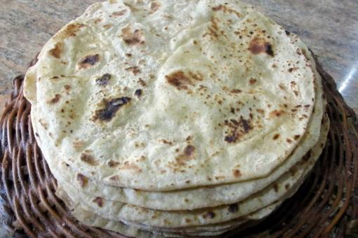 طريقة عمل خبز جباتي الهندي