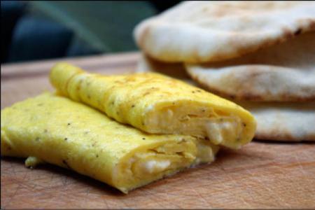 أومليت البيض بالجبن