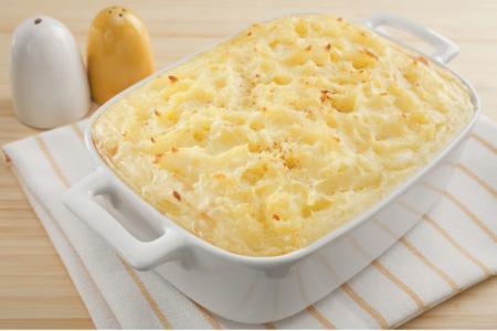بطاطا مهروسة بالجبنة