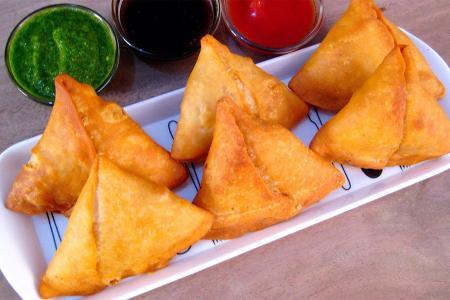 سمبوسة هندية بالبطاطس