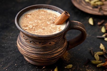 شاي ماسالا لاتيه الهندي