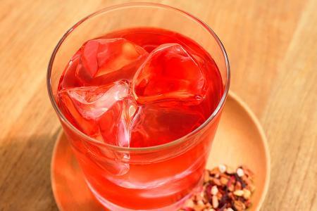 مشروب الورد البارد