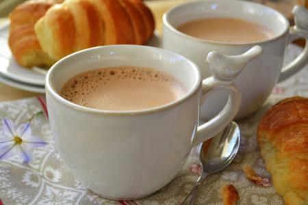 القهوة الفرنسية بالشوكولاتة