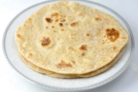 خبز شباتي الهندي