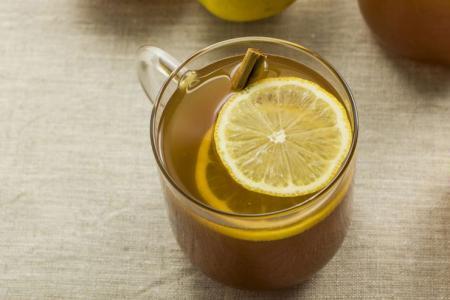عصير الليمون بالقرفة