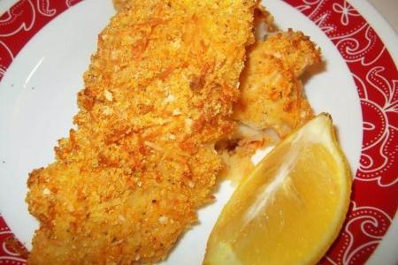 سمك القد المقلي