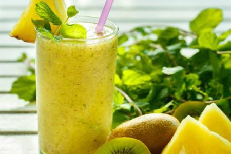 عصير الكيوي مع الليمون