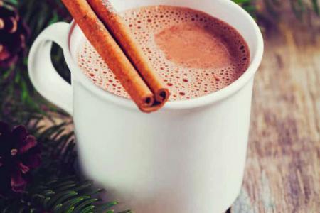 مشروب الكاكاو بالقرفة