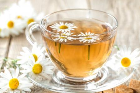 طريقة عمل شاي البابونج