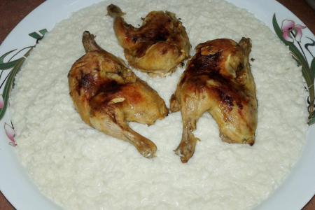 السليق بالدجاج
