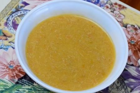 طريقة عمل حساء بالدجاج للرضع