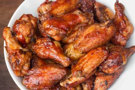 أجنحة الدجاج بالبهارات