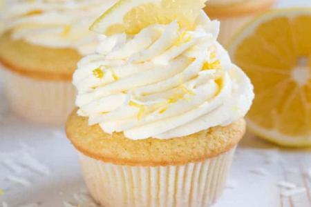 طريقة عمل كاب كيك الليمون